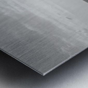 Aerial View of Copenhagen Denmark B&W Metal print