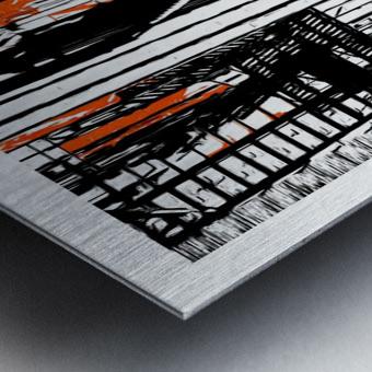 New York SoHo  Metal print