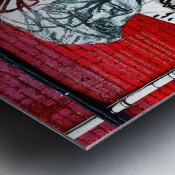 Hommage - Leonard Cohen Metal print