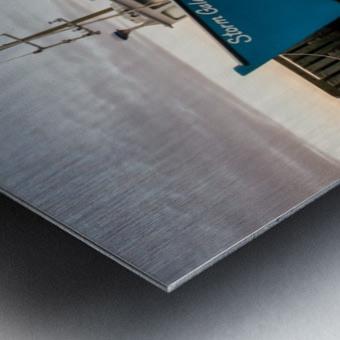 Storm Gale Metal print