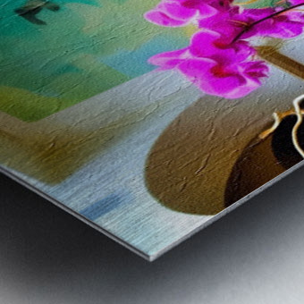 Sea Island Solarium Metal print