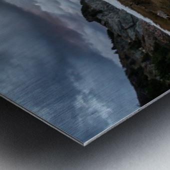 Presquile Sunset Metal print
