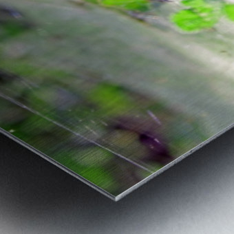 Crawling Metal print
