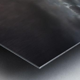 Kiss of light Metal print