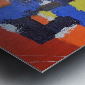 Abstract Painitng Metal print