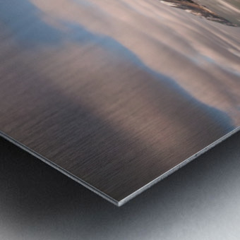 White Shoreline Metal print