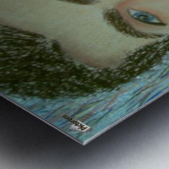 youcef Metal print