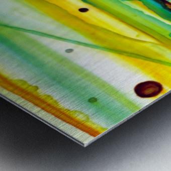 Hazy Rays Metal print