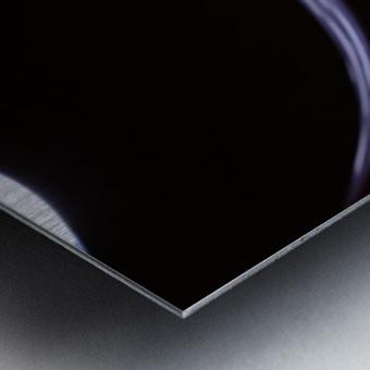 The Stream Metal print