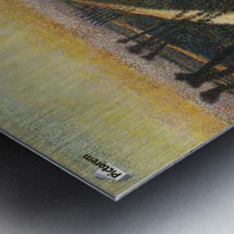 Toorop-broek Metal print
