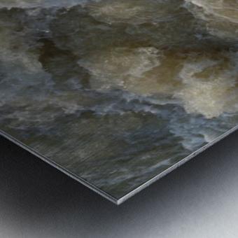 Rapids Metal print