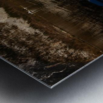 Beautiful Blue Metal print