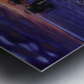 Sylvan Lake Metal print