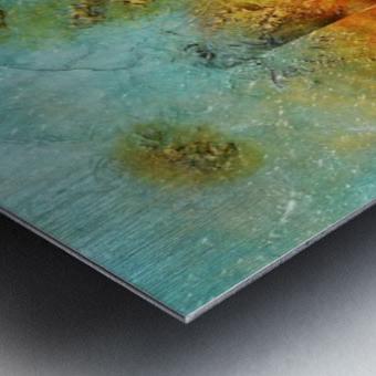Abstract 45 Metal print