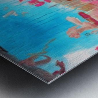 Abstract 43 Metal print