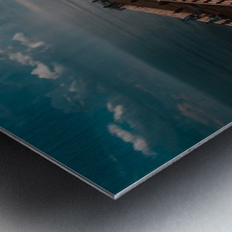 Blue majestic Metal print