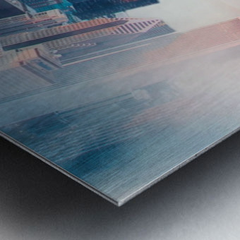 City Bound Metal print