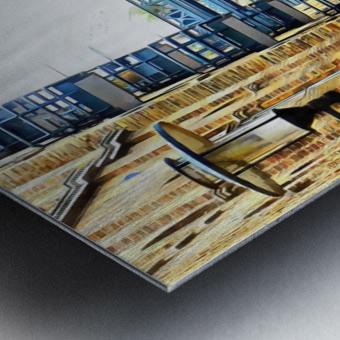 Shad Thames Street View Metal print
