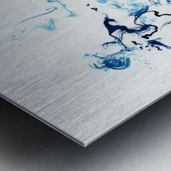 Caribou Crossing Metal print