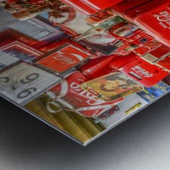 Coca Cola - Montreal Metal print