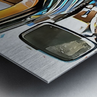 Fiat 508 Balila Through the Window Metal print
