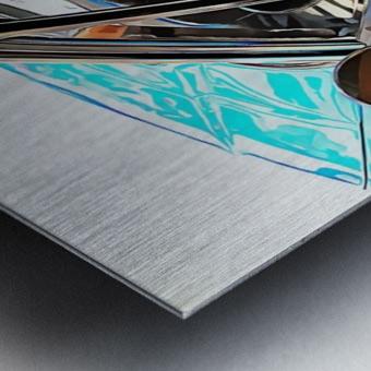 Alfa Romeo 1600Z Through The Window Metal print