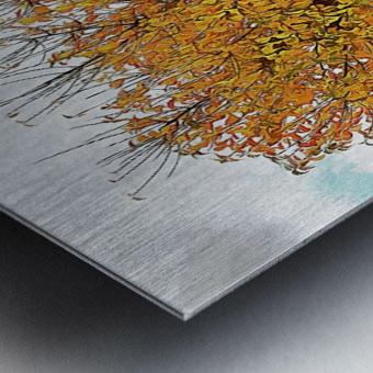 The Autumn Guardian Metal print
