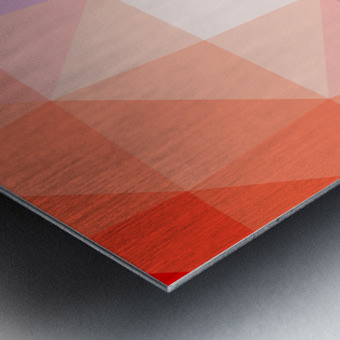 Abstract art patterns low poly polygon 3D backgrounds, textures, and vectors (2) Metal print