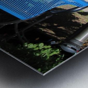 Bench (64) Metal print