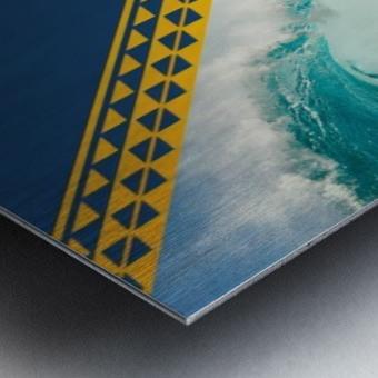 2016 VANS HIC PRO SUNSET BEACH Competition Print Metal print