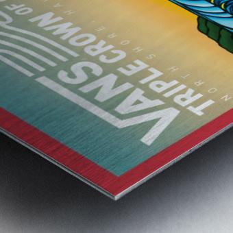 2017 VANS TRIPLE CROWN OF SURFING Competition Print Metal print
