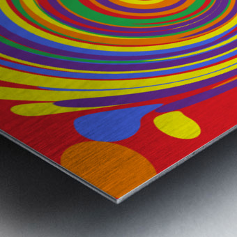 This is a beautiful design with great color, shape, line, texture, space and value.  (14) Metal print