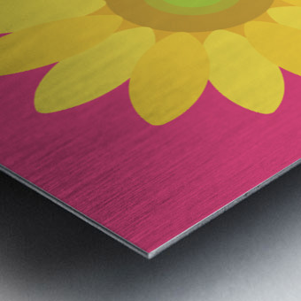 Sunflower (10) Metal print