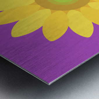 Sunflower (11) Metal print