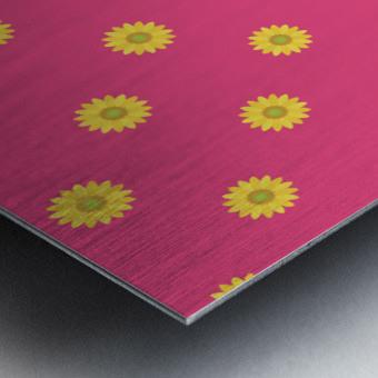 Sunflower (33) Metal print