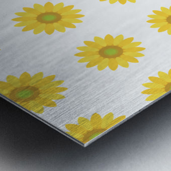 Sunflower (4)_1559875864.3081 Metal print