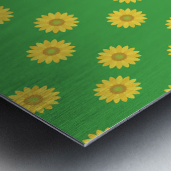 Sunflower (38)_1559875865.3493 Metal print