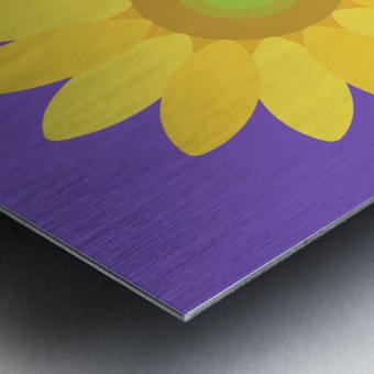 Sunflower (12)_1559876482.6881 Metal print