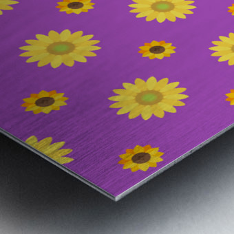 Sunflower (7)_1559876736.0367 Metal print