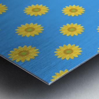 Sunflower (36)_1559876661.0675 Metal print