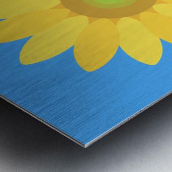 Sunflower (13)_1559876665.7609 Metal print
