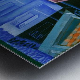 Juan Gris - Still Life before an Open Window Metal print