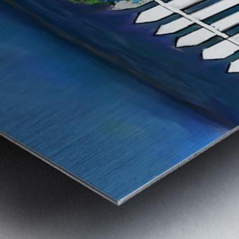 Seascape  Scene Metal print
