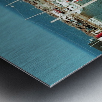 Low Tide - Canadian Harbour Metal print