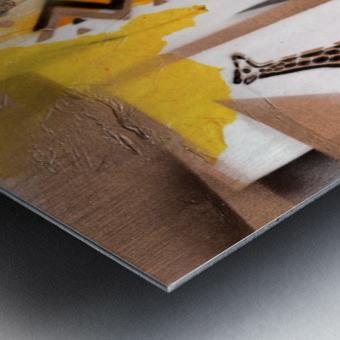 Cultural Remnant - M Metal print