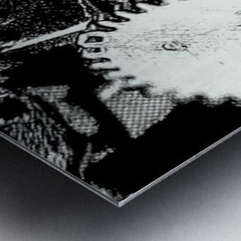 Gear Space Metal print