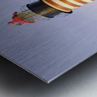Dawn At Quoddy Head Light Metal print