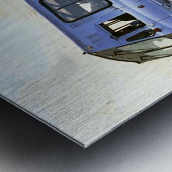 Ice Fields Transportation - Banff Canada Metal print