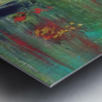 Réflexions Metal print