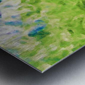 Sun & Surf Metal print